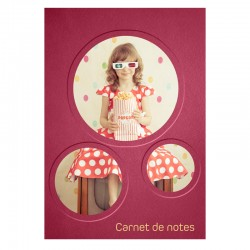 Notebook Little girl - 6,5'' x 9,5'' - French