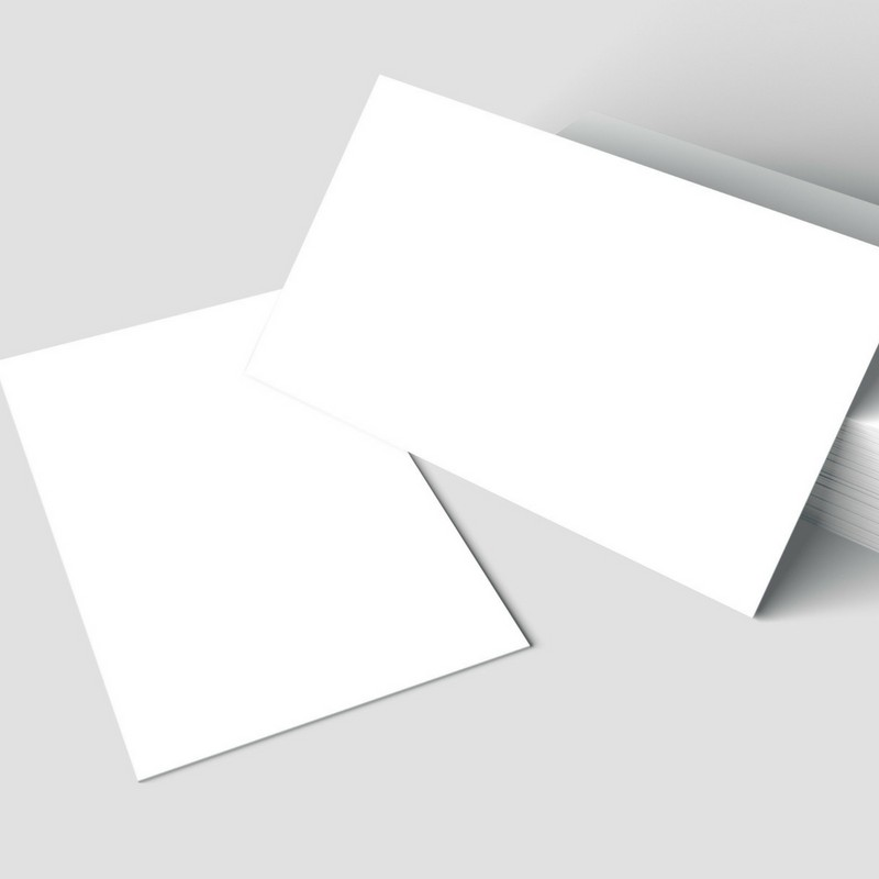 Business card, colors printing, standard paper, single-sided glossy