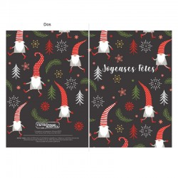 Holiday Elves, customizable, french