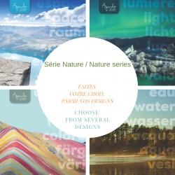 Nom sur le couvert, FRANÇAIS, agenda 2020 Directeur, 6,5''x9'', série Nature