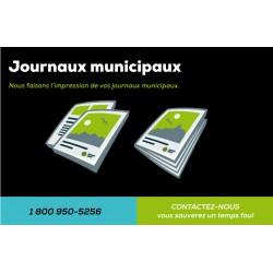 Journaux municipaux : impression, assemblage