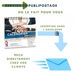 Publipostage et enveloppes - Calendriers de bureau 2021