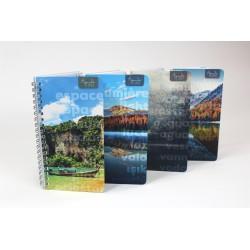 Non personalized, FRENCH Agenda 2021, 8.5'' x 11'', Landscape Series