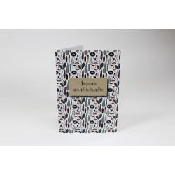 Cartes d'anniversaire, Feuilles, personnalisable, 5'' x 7'' - Français