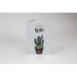 Cactus, Cards Customizable, French