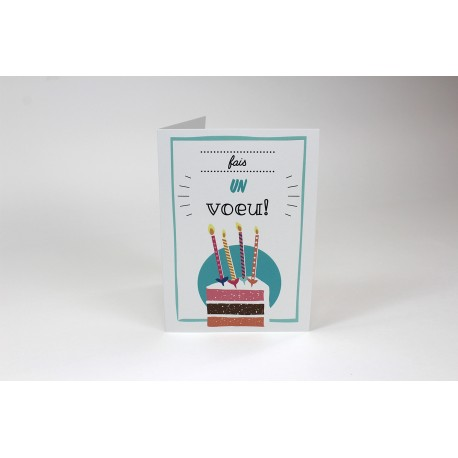 Piece of cake, Customizable Cards, French