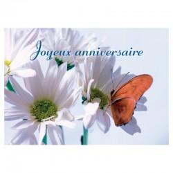 Carte d'anniversaire - Sans texte - 7'' x 5'' - Français