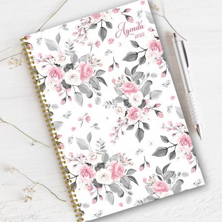 Non personalized, agenda 2022, 6.5''x9'', Flower