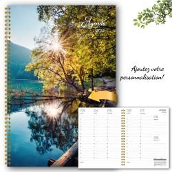 Customizable, agenda 2022, 6,5''x9'', Lake