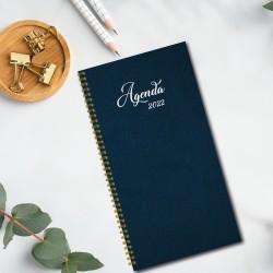 2022 pocket agenda, Non-personalized, 3.5 '' x 6.75 '', Plain color