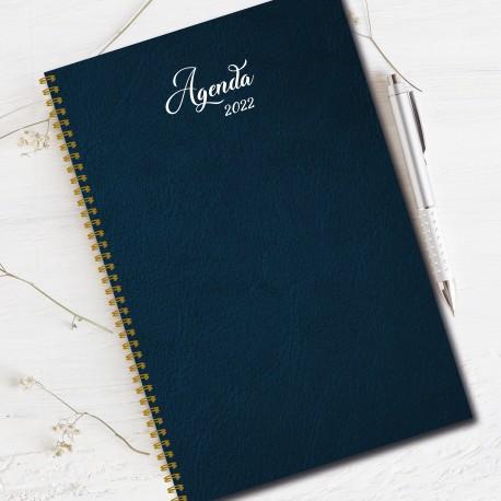 agenda 2022, 6.5''x9'', Non personalized, Plain color