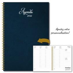 Agenda 2022, 6,5''x9'', Customizable, Plain color