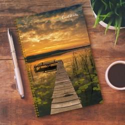 Notebook - 6,5'' x 9'' - Pond