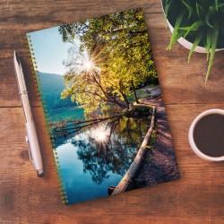Notebook - 6,5'' x 9'' - Lake