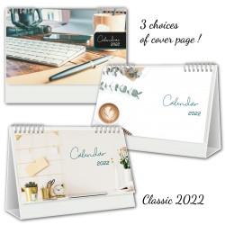2022 Desk Calendars ENGLISH, Customizable, Classic