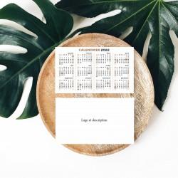 2022 pocket calendars FRENCH