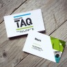 Business card, colors printing, standard paper, two-sided (C2S)
