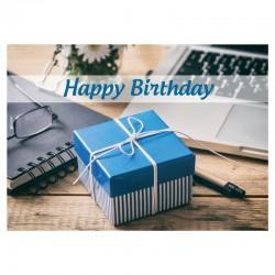 Carte anniversaire - Sans texte